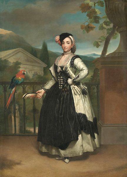 Isabel Parreño y Arce, Marquise von Llano, Anton Raphael Mengs von Marieke de Koning