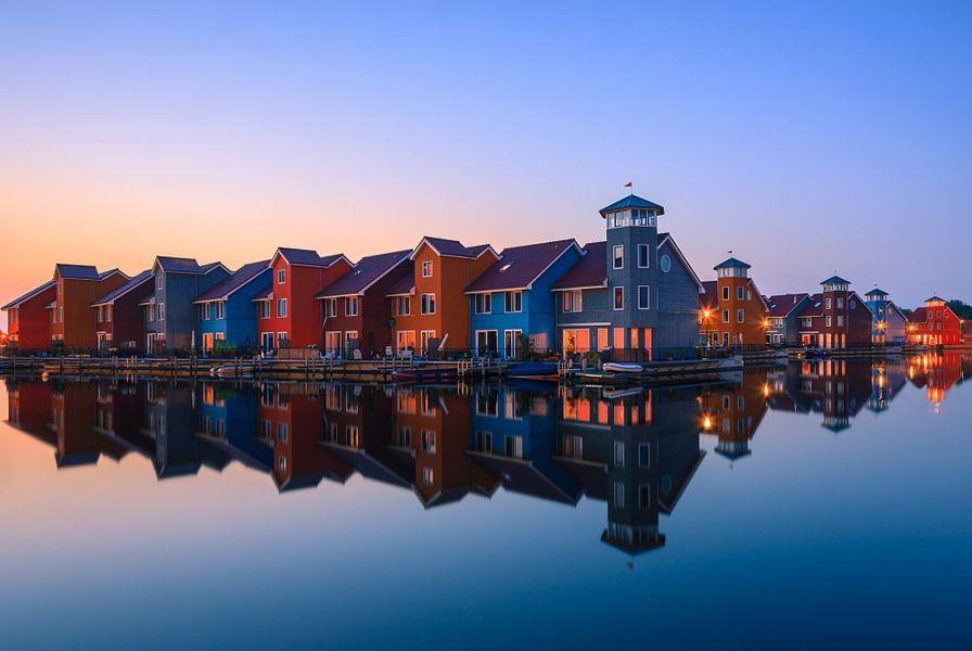 Reitdiephaven, Groningen, Netherlands van Henk Meijer Photography