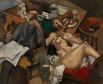 Roger de la Fresnaye, Het Getrouwde Leven - 1912 van Atelier Liesjes