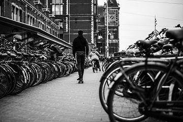 Fahrradabstellplatz in Amsterdam von Bart Rondeel