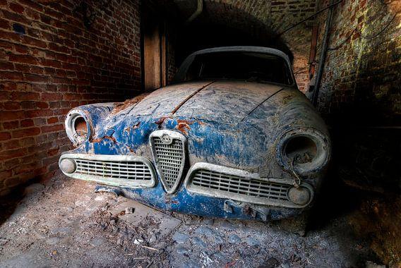 Lost Alfa Romeo van Wouter Artwork