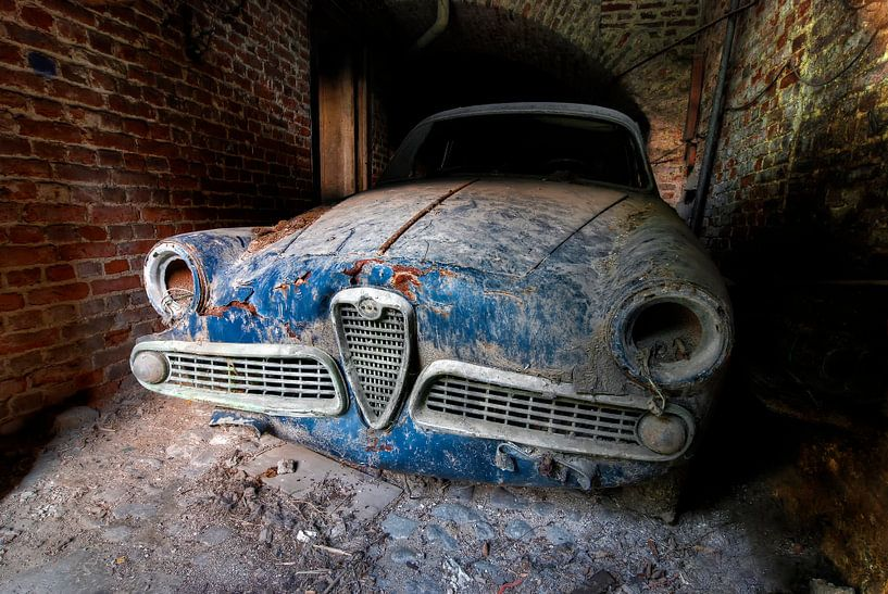 Lost Alfa Romeo van Wigo Worsseling