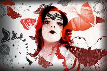 Butterfly prinses van Qunzt dat is andere kunst