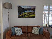 Kundenfoto: Lake District von Frank Peters, auf leinwand