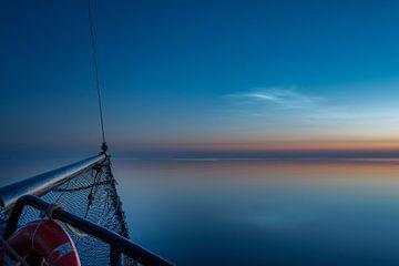 Le calme tombe sur la mer des Wadden