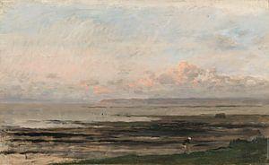 Charles-François Daubigny, Strand bij eb