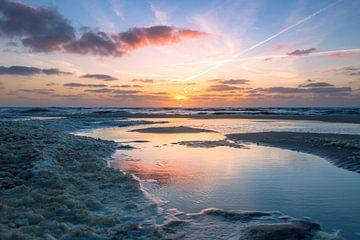 Rustgevende zonsondergang von Richard Steenvoorden