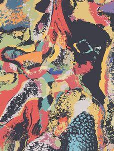 Kosmische Olifant van dcosmos art