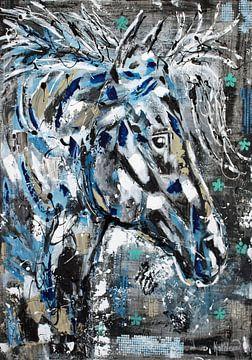 Het Spiritueel Paard van Kathleen Artist Fine Art