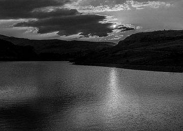 Zonsondergang in de bergen van Roland's Foto's