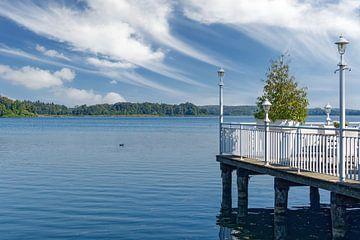 Idyll in Krakow am See,Mecklenburgische Seenplatte von Peter Eckert