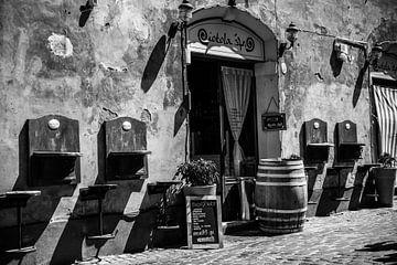 Oud Italiaans café van Colin Eusman