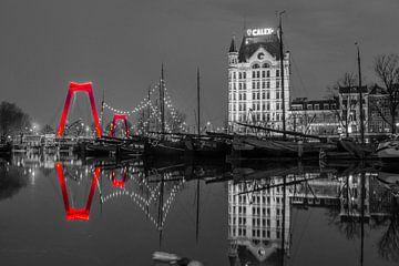 Oude Haven Rotterdam van Richard Kortland