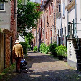 Oude man  Muurhuizen, Amersfoort van Inge Hogenbijl