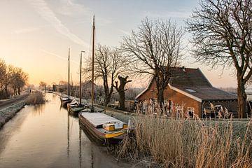 Een Mooie Winterochtend in Maasland von Charlene van Koesveld