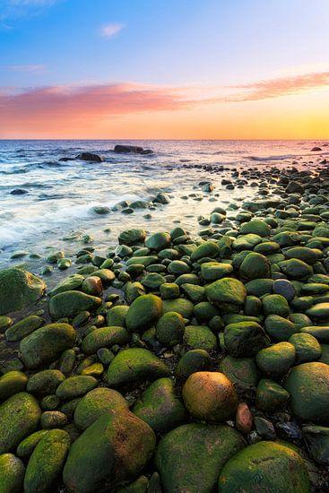 stones on the beach van Daniela Beyer