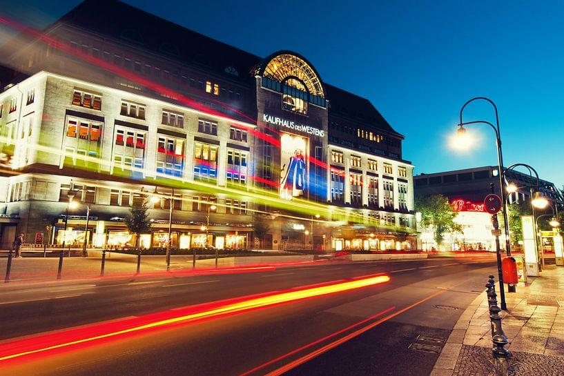 Berlin – KaDeWe Kaufhaus des Westens van Alexander Voss