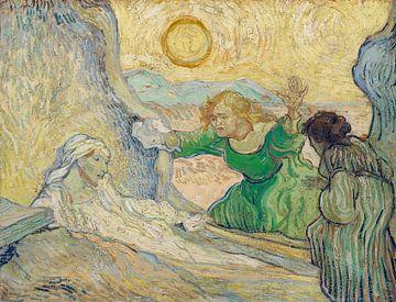 Aufstieg des Lazarus (nach Rembrandt), Vincent van Gogh