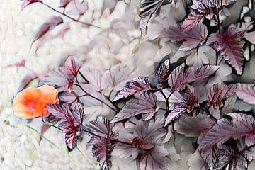 Herbst Aquarellmalerei