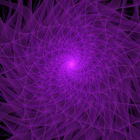Purple Spiral von Tim Abeln