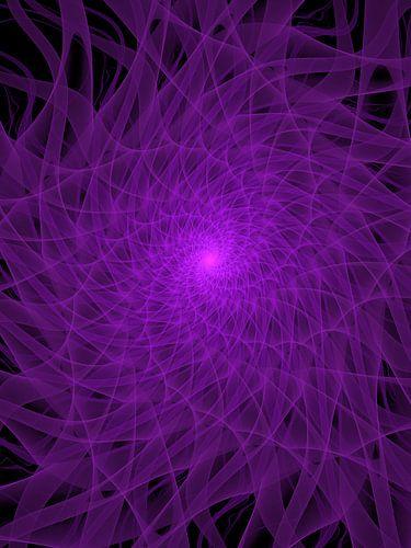 Purple Spiral von