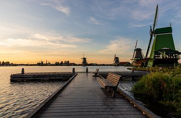 Windmills in the Netherlands van Kevin Nugter