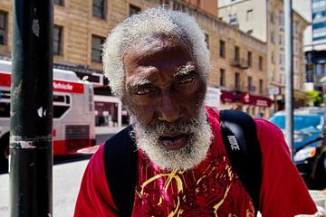 Homeless Man San Francisco van Remco Artz