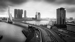 Vroege ochtend in Rotterdam
