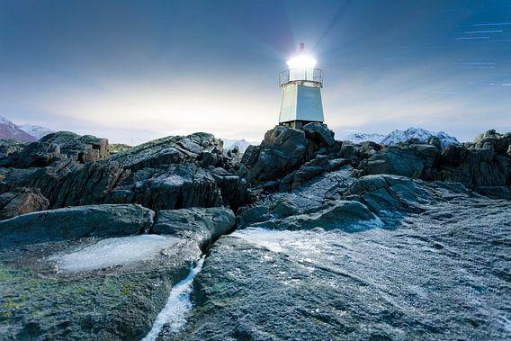 Laukvik Lighthouse van Tilo Grellmann
