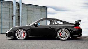Porsche 911 GT3 Type 997 in origineel zwart van aRi F. Huber