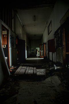 Gang van een spookhuis van Melvin Meijer