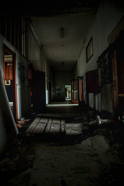 Spooky hallway von Melvin Meijer
