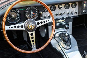 Jaguar E-Type dashboard van Sjoerd van der Wal