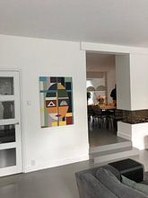 Photo de nos clients: Visage de style moderne sur Marion Tenbergen, sur toile
