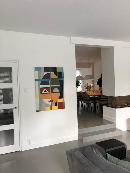 Photo de nos clients: Visage de style moderne sur Marion Tenbergen
