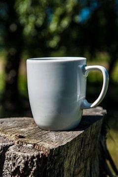 Koffie, buiten drinken van Norbert Sülzner