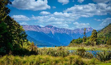Nelson Lakes Nationaal Park, Nieuw Zeeland van Rietje Bulthuis