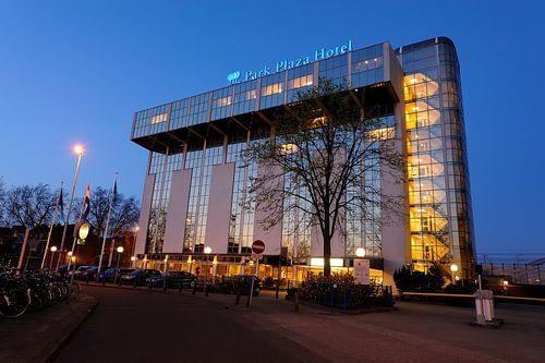 Het Park Plaza Hotel aan het Westplein in Utrecht