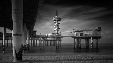 Pier van Scheveningen  #4417 von Daan Overkleeft