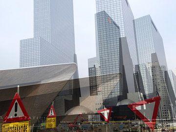 Nieuw Rotterdam Centraal: BouwChaos! van MoArt (Maurice Heuts)