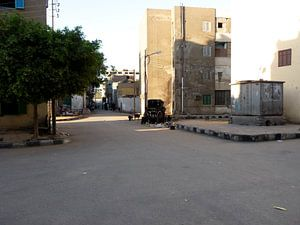 'Fietskar', Luxor- Egypte van