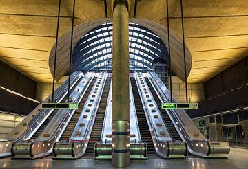 U-Bahn-Station Canary Wharf von Adelheid Smitt