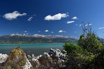 Uitzicht op zee in Kaikoura, Nieuw-Zeeland von Bianca Bianca