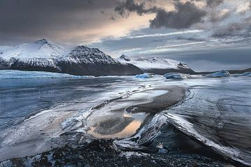 Skaftafellsjökull van Peter Poppe
