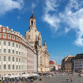 Church of Our Lady, Dresden van Gunter Kirsch