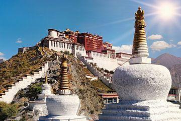 Potala-Palast in Lhasa - Tibet von Chihong
