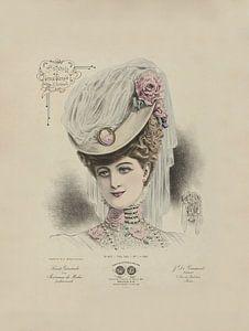 Dame mit Hut von Andrea Haase