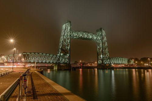 De Hef Brücke, Rotterdam von Gea Gaetani d'Aragona