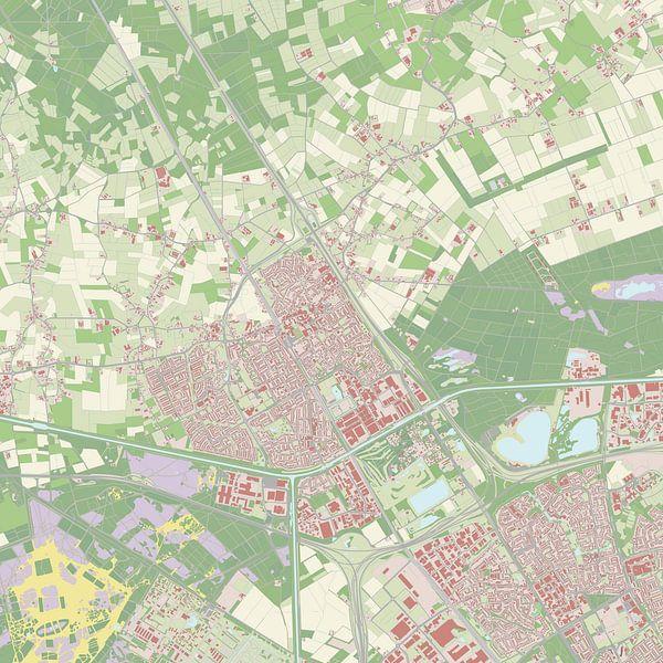 Kaart vanBest