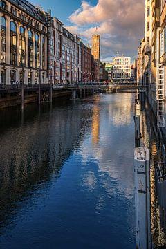 Vue de la ville de Hambourg